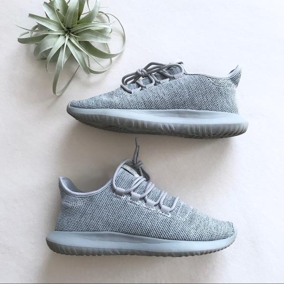 Euc Adidas Tubular Shadow Gray Sneakers
